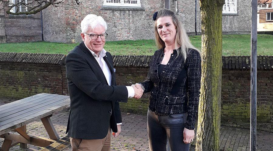Saskia Caminada columnist van het Voorburgs Dagblad